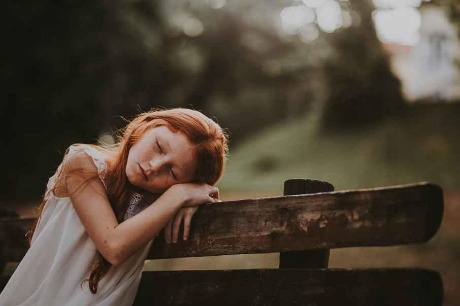 adolescence adorable blur child