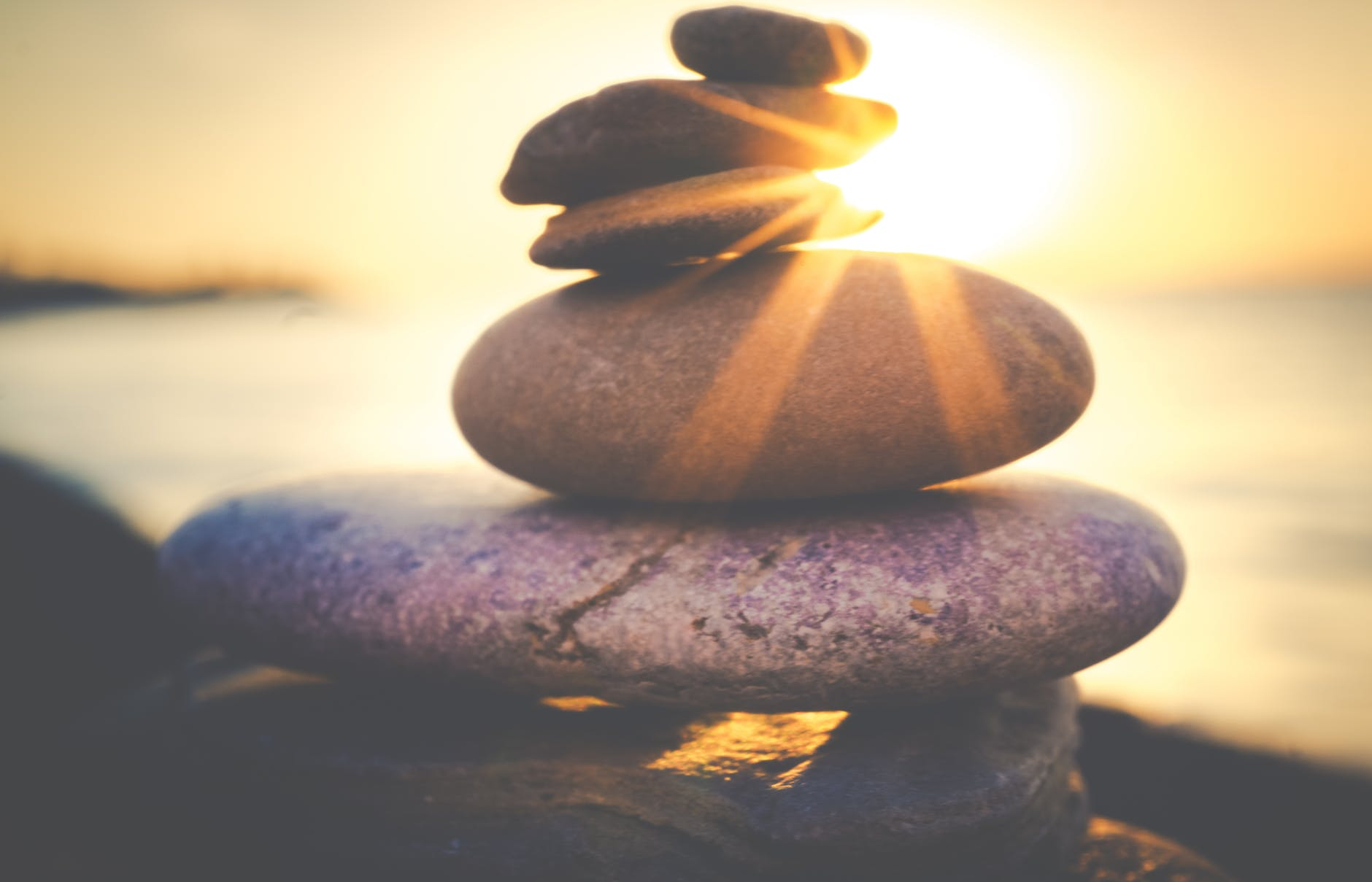 balancing rock formation